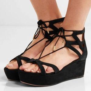 Aquazzura platform sandals 7(37) BNWOB